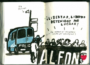 Libertad presos detenidos por luchar