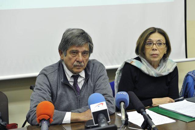 Carlos Slepoy y Ana Messuti