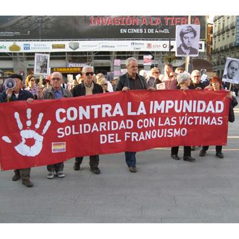 Plataforma contra la impunidad del franquismo
