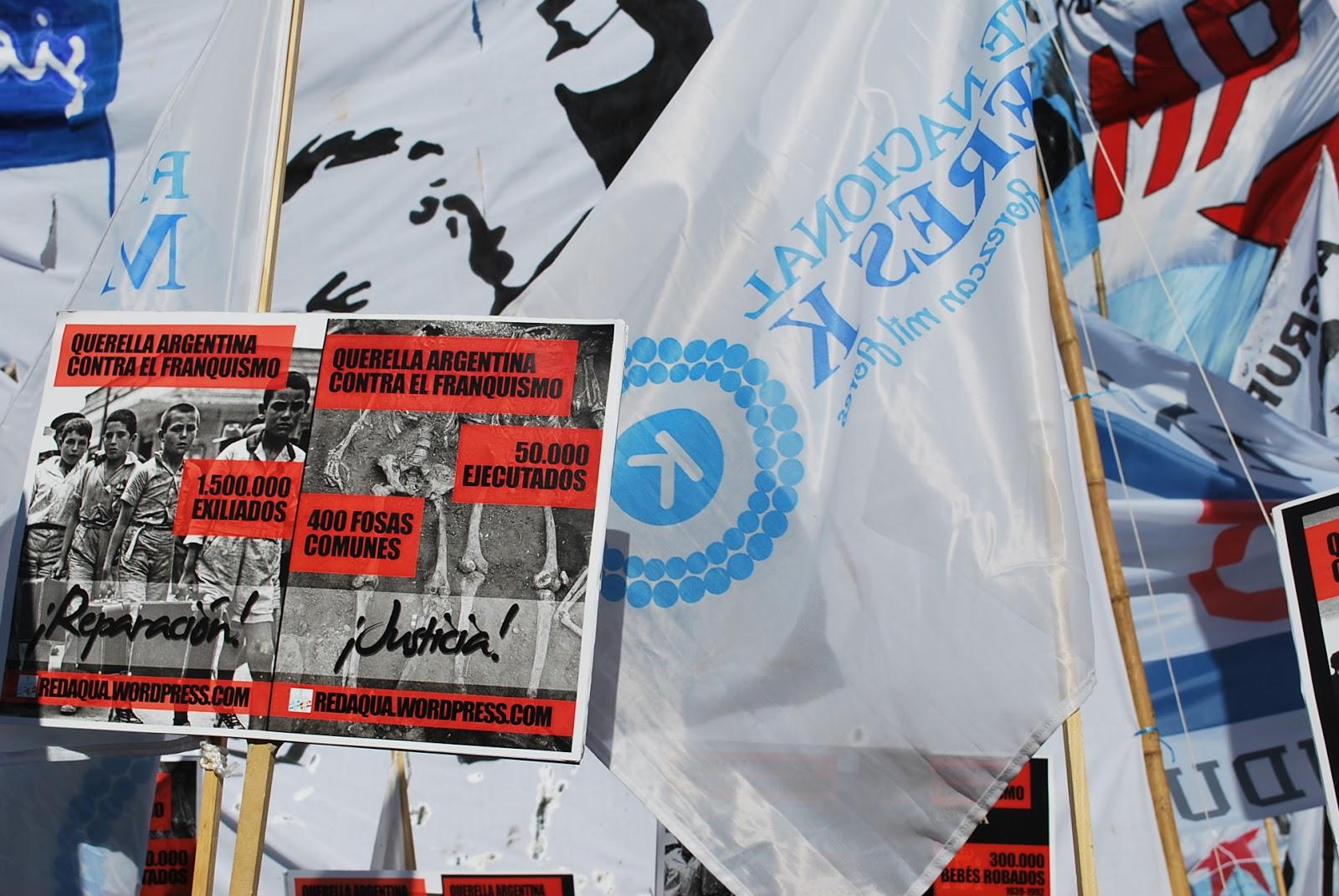 24 de marzo de 2013 Marcha por la Memoria en Buenos Aires