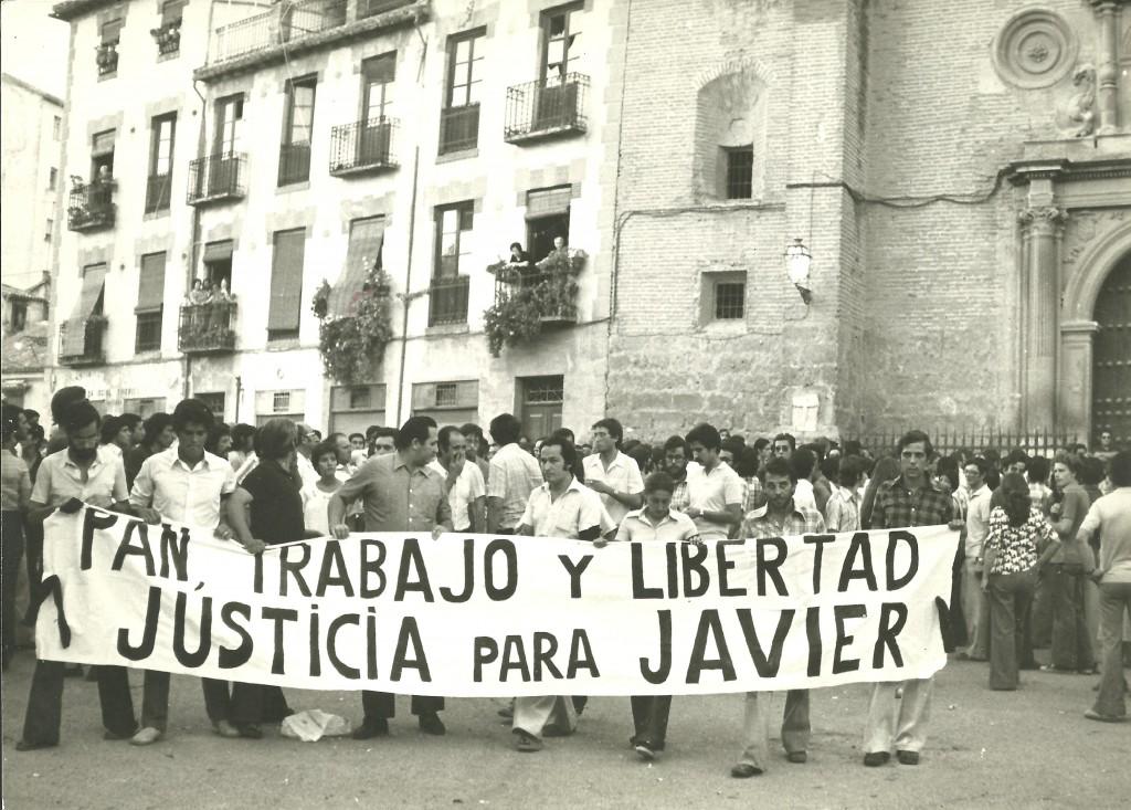 Funeral Javier Verdejo 1976