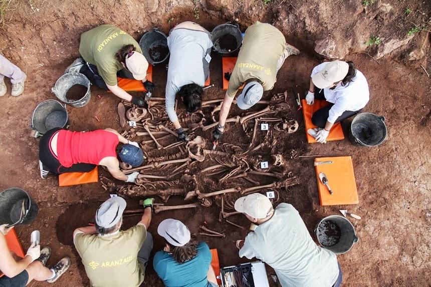 Exhumación Barcones  / Foto: Óscar Rodríguez