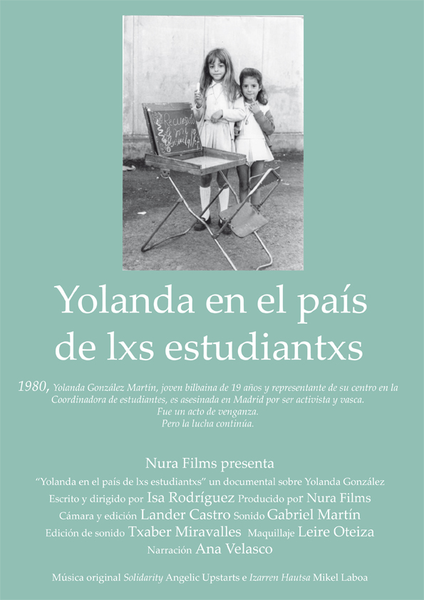 Cartel documental de Yolanda González