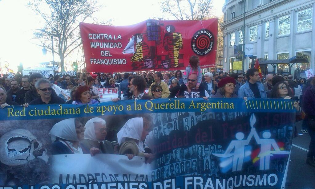 Marchas de la Dignidad 22M 2014