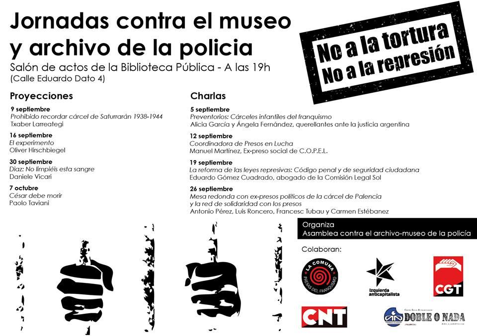 Cartel Palencia septiembre 2014