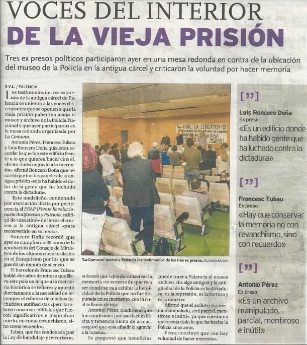 Diario Palentino 27.09.2014