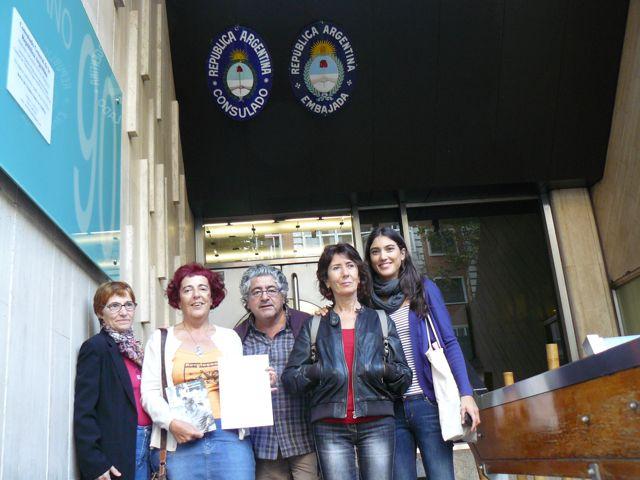 Luisa Cuevas denuncia por Petra Cuevas 1 octubre 2014 Madrid