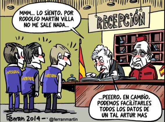Martin Villa Interpol