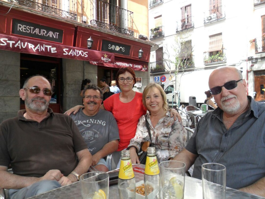 Piños, Kutxi, Lucia Vicente. Madrid julio 2015