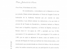 2016 exhorto Servini imputados