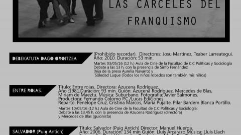 2016_05_03 Ciclo de cine Cárceles del franquismo